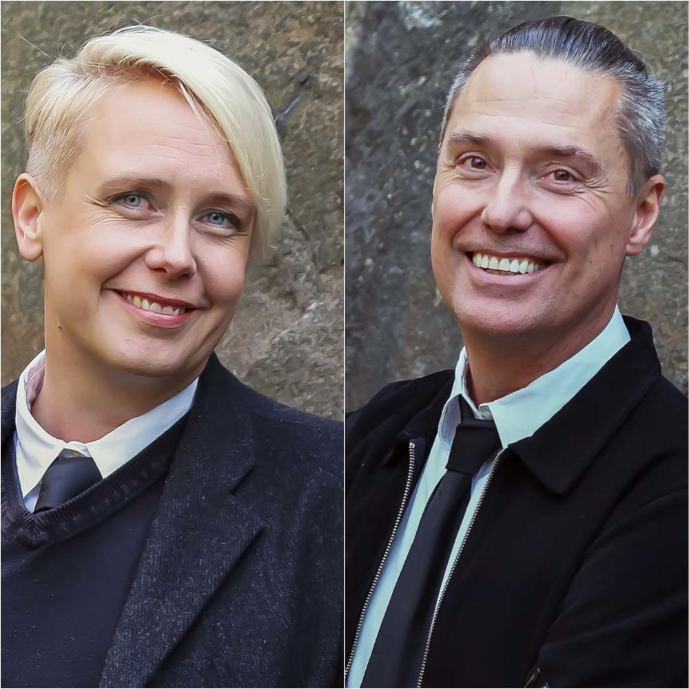 Anna Lihammer och Ted Hesselbom